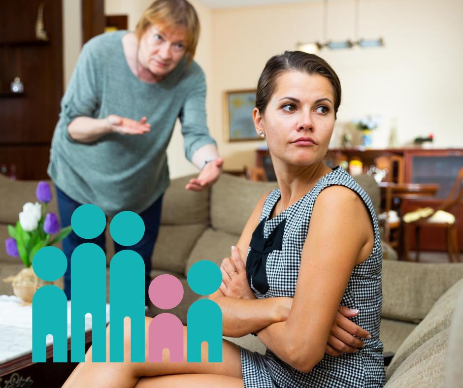 Streit mit der nervigen Schwiegermutter- Tipps und Erklärungen